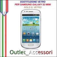 Riparazione Sostituzione Cambio Vetro Glass Schermo per Samsung Galaxy S3 MINI GT-I8190 I8190