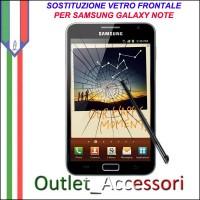 Riparazione Sostituzione Cambio Vetro Rotto Glass Schermo per Samsung Galaxy Note N7000 GT-N7000