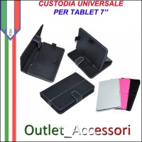 Custodia Cover per Tablet 7'' Bianco Universale Linq