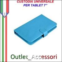 Custodia Cover per Tablet 7'' Universale Colori Vari