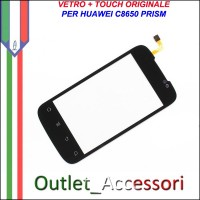 Ricambio Vetro Touch Screen Touchscreen per Huawei C8650 PRISM Originale