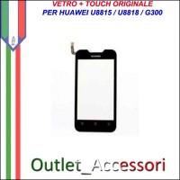Ricambio Vetro Touch Screen Touchscreen per Huawei U8815 U8818 G300 Originale