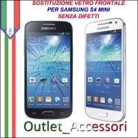 Riparazione Sostituzione Cambio Vetro Glass Schermo per Samsung Galaxy S4 MINI GT-I9190 I9195