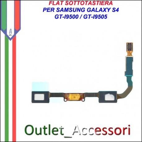 Flat Tasti Tastiera Flex per Samsung Galaxy S4 I9500 I9505 ORIGINALE