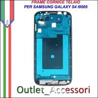 Scocca Housing Telaio Frame Cornice Piccola per Samsung Galaxy S4 I9505 GT-I9505