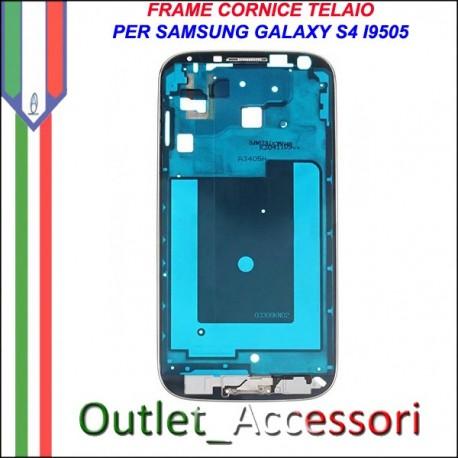 Scocca Housing Telaio Frame Cornice per Samsung Galaxy S4 I9505 GT-I9505