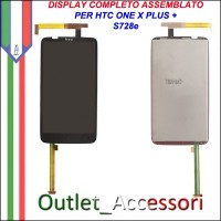 Schermo Display Vetro Lcd Touch Touchscreen per HTC One X + Plus S728e Originale