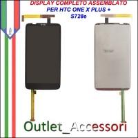 Schermo Display Vetro Lcd Touch Touchscreen per HTC One X + Plus S728e Originale