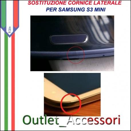 Riparazione Sostituzione Cambio Cornice Telaio Frame Rotto per Samsung Galaxy S3 MINI I8190 GT