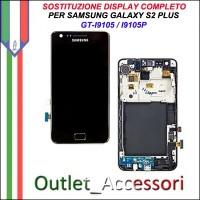 Sostituzione Riparazione Cambio Assemblaggio Display Lcd Vetro Rotto Samsung Galaxy S2 Plus I9105 I9105P