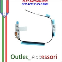 Flat Flex Modulo Antenna WIFI Wirless Ricambio per Apple Ipad Mini Bianco