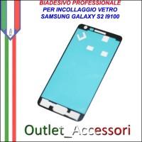 Adesivo Biadesivo Colla per Vetro Galaxy S2 I9100 Samsung Professionale 3M