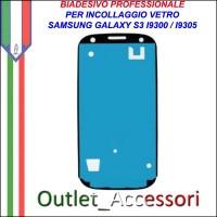 Adesivo Biadesivo Colla per Vetro Galaxy S3 I9300 Samsung Professionale 3M