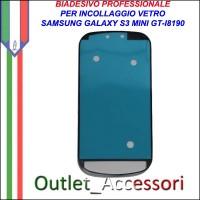 Adesivo Biadesivo Colla per Vetro Galaxy S3 Mini I8190 Samsung Professionale 3M