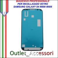 Adesivo Biadesivo Colla per Vetro Galaxy S4 I9505 I9500 Samsung Professionale 3M