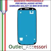 Adesivo Biadesivo Colla per Vetro Galaxy S4 MINI I9192 I9195 Samsung Professionale 3M