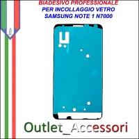 Adesivo Biadesivo Colla per Vetro Galaxy Note 1 N7000 Samsung Professionale 3M