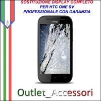 Sostituzione Riparazione Cambio Display Lcd Vetro Touch Touchscreen Schermo Rotto per HTC ONE SV