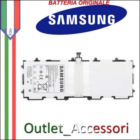 Batteria Pila Originale Samsung Galaxy Tab2 P5100 P5110 SP3676B1A Garanzia Ufficiale