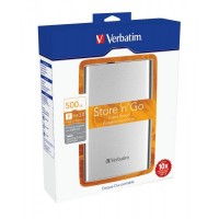 Hard Disk Esterno Portatile 500GB HDD Verbatim USB 3.0