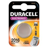 Batteria Pila Duracell DL2016 Originale in Blister