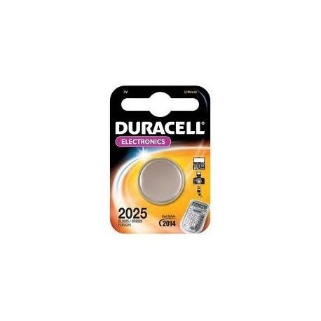 Batteria Pila Duracell DL2025 Originale Electronics in Blister