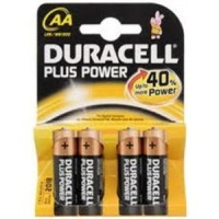 4 Batterie Pila Duracell Stilo AA Plus Power MN 1500 Originale in Blister X4