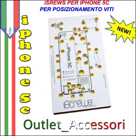 iScrews Utensile per Viti Scheda Madre Iphone 5c