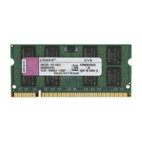 Modulo Banco Memoria Ram RAM 2GB KINGSTON SO-DIMM DDR2 800 Notebook Netbook KVR800D2S6/2G