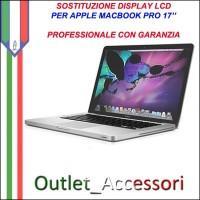 Riparazione Display Lcd Apple MacBook Pro 17'' Cambio Schermo Rotto Assistenza