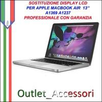 Riparazione Display Lcd Apple MacBook Air 13'' A1369 A1237 Cambio Schermo Rotto Assistenza