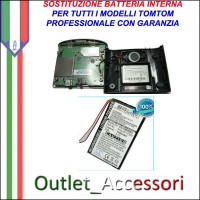 Riparazione Sostituzione Cambio Batteria per TomTom Tom GPS Navigatori One Xl Route Quanta Europe Xl Start