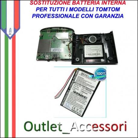 Riparazione Sostituzione Cambio Batteria per TomTom Tom GPS Navigatori One Xl Route Quanta Europe Xl Start