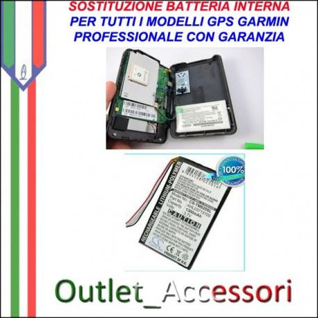 Riparazione Sostituzione Cambio Batteria per Garmin Navigatori Gps Tutti Modelli