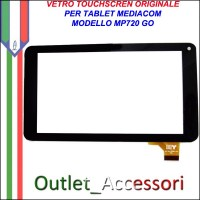Vetro TouchScreen Touch Mediacom MP720 MP-720 GO Tablet Ricambio Originale