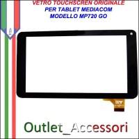 Vetro TouchScreen Touch Mediacom MP720 MP-720 GO Tablet Ricambio Originale