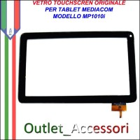 Vetro TouchScreen Touch Mediacom MP1010i MP-1010i Tablet Ricambio Originale
