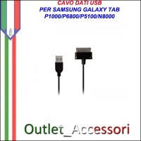 Cavo Dati USB per Samsung Galaxy Tab P1000 P5100 P6800 N8000