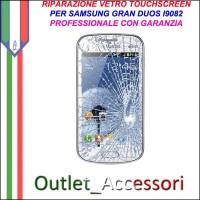 Riparazione Vetro Touch Samsung Gran Duos I9082 Cambio Touchscreen Schermo Rotto