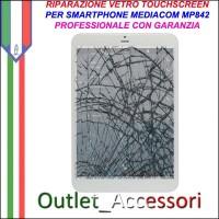 Riparazione Tablet Mediacom Mp842 Sostituzione Cambio Vetro Touch Touchscreen Rotto