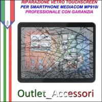 Riparazione Tablet Mediacom Mp910i Sostituzione Cambio Vetro Touch Touchscreen Rotto