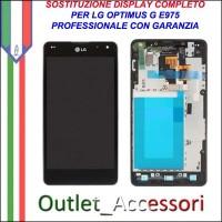 Riparazione Dispaly Lcd Touch LG E975 Optimus G Cambio Touchscreen Schermo Rotto