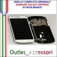 Sostituzione Riparazione Display Samsung Galaxy Express I8730 Cambio Assemblaggio Vetro Cornice Schermo Rotto