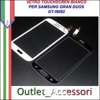 Vetro Touch Screen Samsung Gran Duos I9082 Bianco Ricambio Schermo Touchscreen