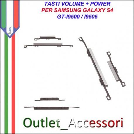 Tasti Tasto Power Accensione Volume Samsung Galaxy S4 I9500 I9505
