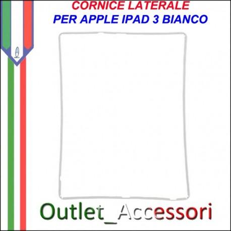 Cornice per Vetro Touch Bianca Apple Ipad 3 Frame Guarnizione
