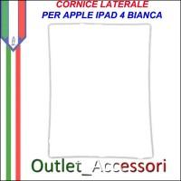 Cornice per Vetro Touch Bianca Apple Ipad 4 Frame Guarnizione