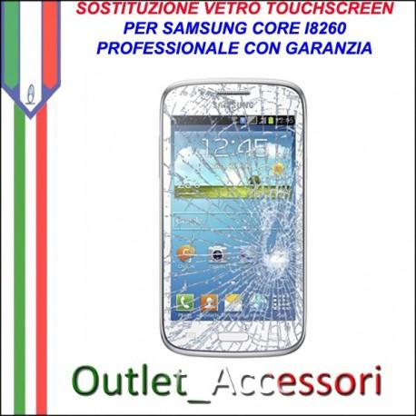 Riparazione Vetro Touch Samsung Core I8260 Cambio Touchscreen Schermo Rotto