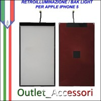 Retroilluminazione Back Light per Apple Iphone 5