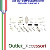 Kit Set Completo Parti interne scheda madre apple iphone 5